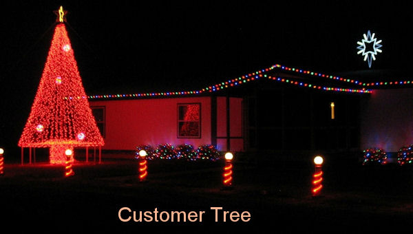 20 Mega Tree Kit For Outdoor Decorations Christmas