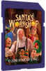 AtmosCheerfx Santa's Workshop 1900 Lumen Video Projector On SD Media Card