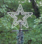 "24"" Star Flare - 3 Channel with led rope light kit"
