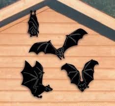 Vampire Bat Shadow Woodcraft Pattern