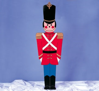 Giant Toy Soldier wood plans