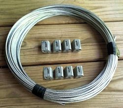 Guy wire Set for 20 mega Christmas tree with w/ 4 KL-150
