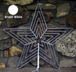 "LED 5 Channel Star Flare (Bright White) (36"" Tall)"