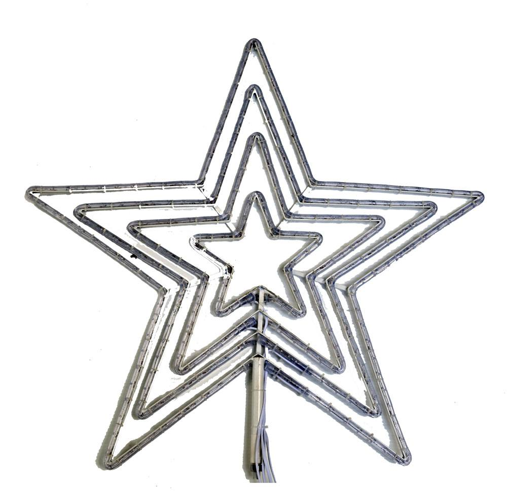 "LED 4 Channel Star Flare (Bright White) (30"" Tall)"