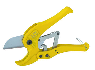 Ratchet PVC Pipe Cutter