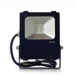 RGB 100 watt DMX flood light