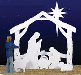 Large Silent Night Wood Pattern