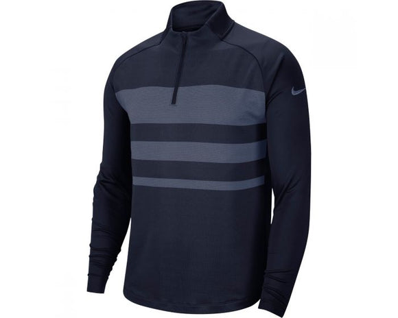 Nike DRI-FIT Vapor 1/2 Zip Golf Sweater - Obsidian