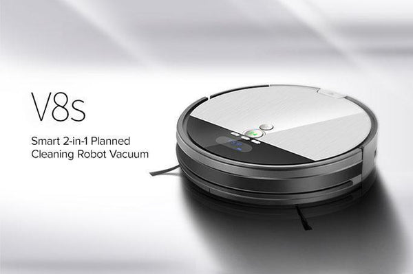 ILIFE V8s: Smart 2-in-1 Planned Cleaning Robot Vacuum Global Launch