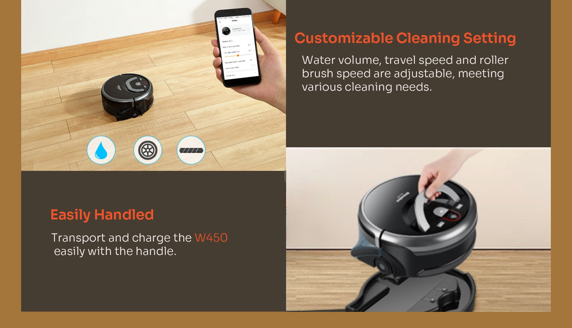 Customizable cleaning setting