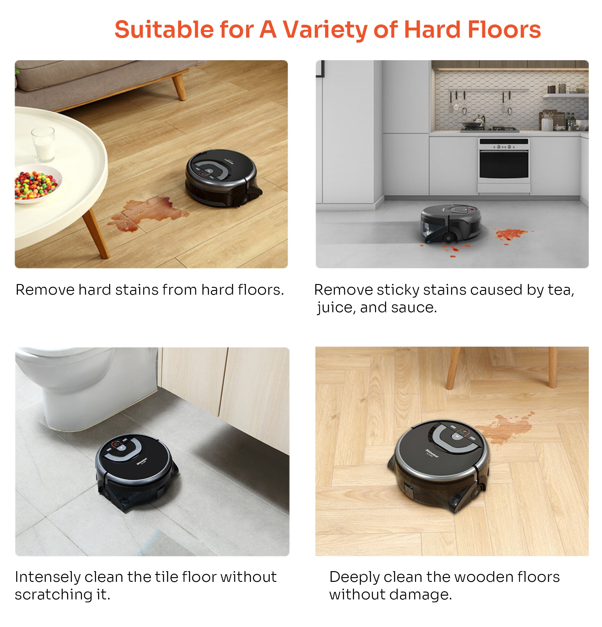 Suitable for A Variety of Hard Floors