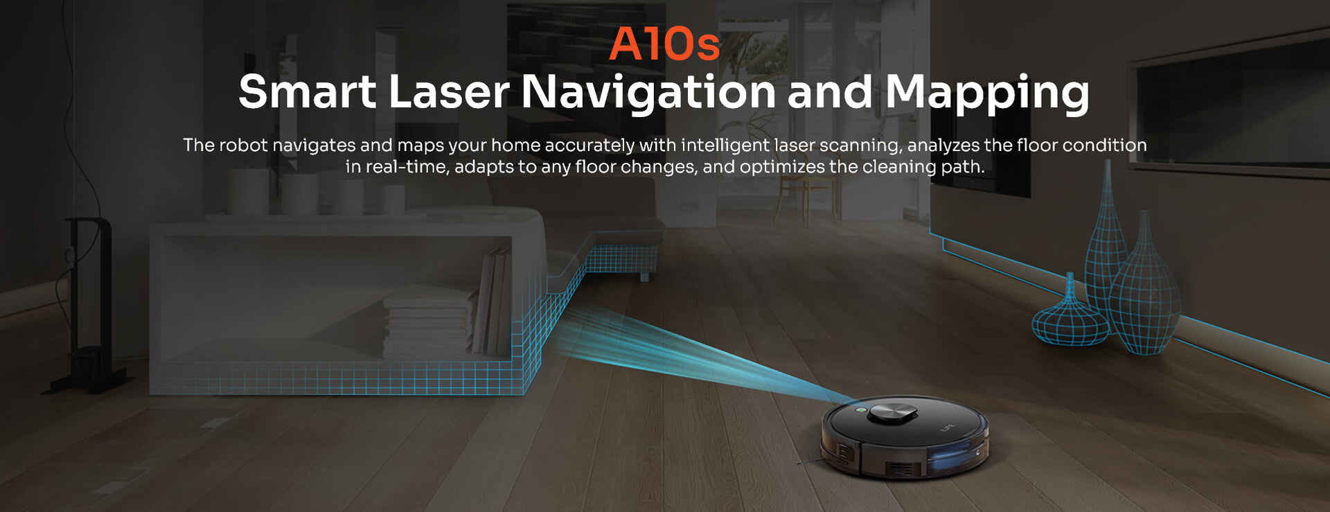 smart laser navigation and mapping