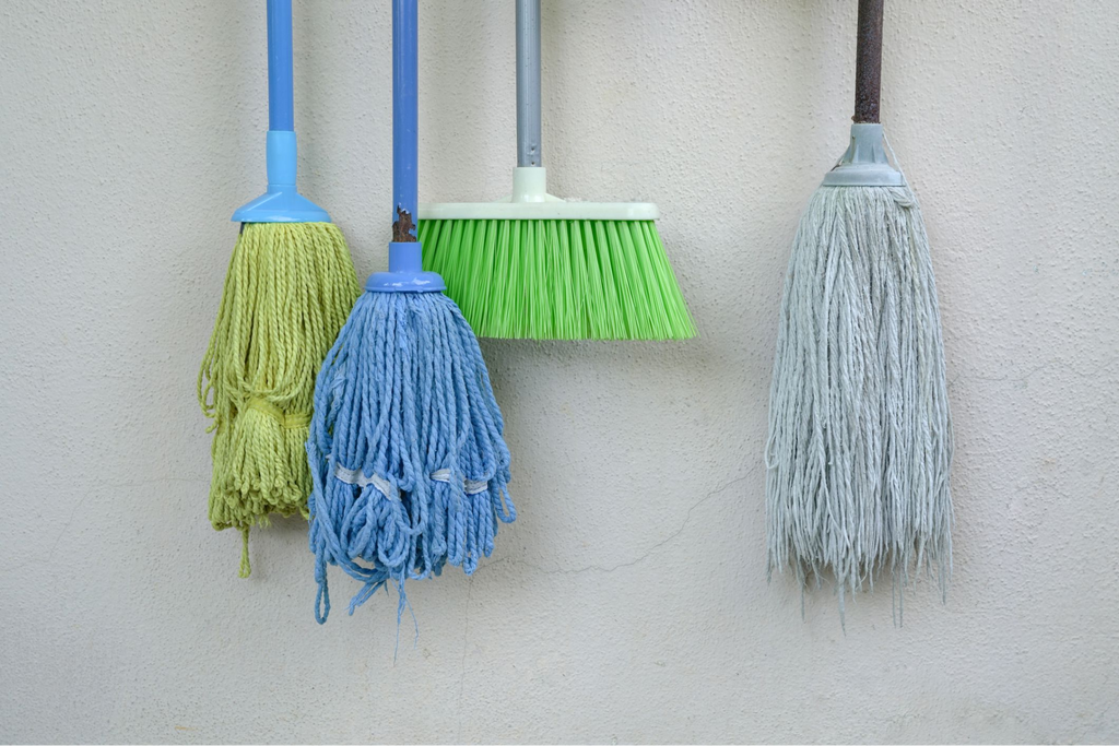 importance of wet mopping