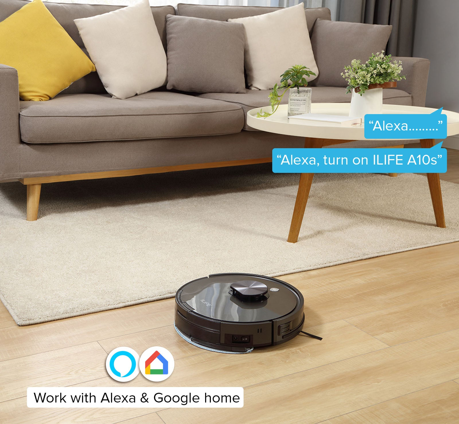 work with alexa and google home