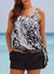 DEW DROPS SIDE TIE BLOUSON TANKINI SET
