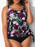 DERBY SIDE TIE BLOUSON TANKINI SET