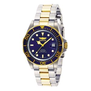 Men's Pro Diver Automatic 3 Hand Blue Dial Watch