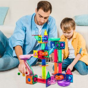 100pc Marble Run Building Blocks