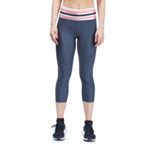Tri Legging - Grey/Watermelon - M