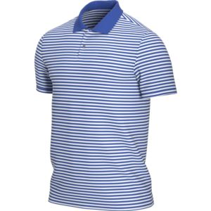 Nike Dry Victory Stripe Polo - Game Royal/White