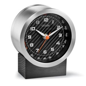 Citizen Bluetooth Speaker with Carbon Fiber Dial Clock