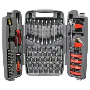 123-Piece Mechanic's Tool Set in Tri-Fold Case