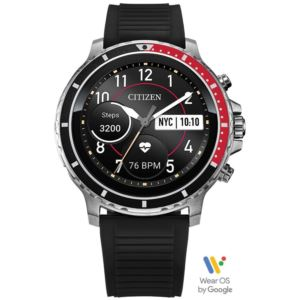 CZ Smart Smartwatch - Black Silicone