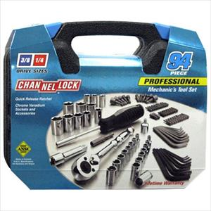 ChannelLock 94-Piece Professional Mechanic's Tool Set with Case