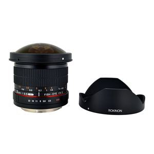 8mm F3.5 HD Fisheye Lens-for Micro 4/3