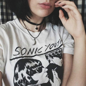 Camiseta Sonic Youth-PP- - 4EVAH Young