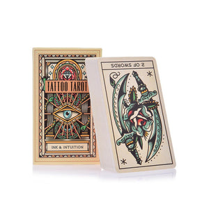 Tarot Cards Tattoo