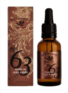 No. 63 Men's Beard Oil