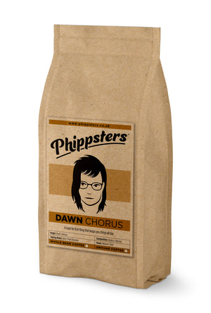 DAWN CHORUS      Strength 5 Medium/Dark Roast