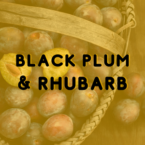 Black Plum & Rhubarb - Reed Diffuser Fragrance