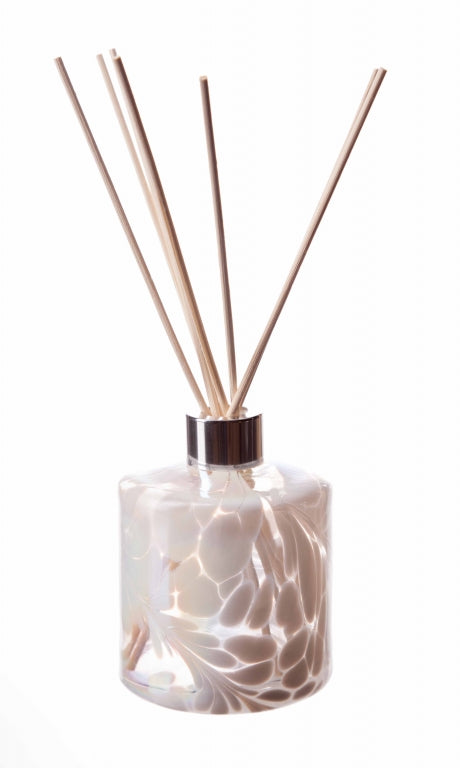 Hand Blown Glass Reed Diffuser Bottle - Cylinder (5142253469830)