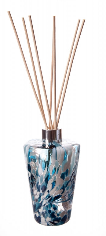 Hand Blown Glass Reed Diffuser Bottle - Tapered Cylinder (4463838068870)