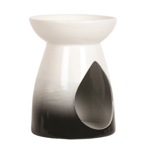 Black Teardrop Wax Burner