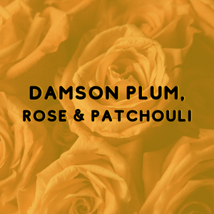 Damson Plum, Rose & Patchouli - Reed Diffuser Fragrance