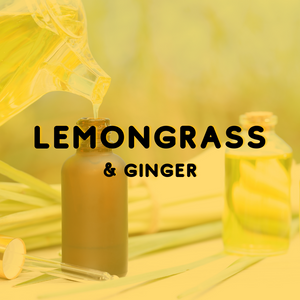 Lemongrass & Ginger - Reed Diffuser Fragrance