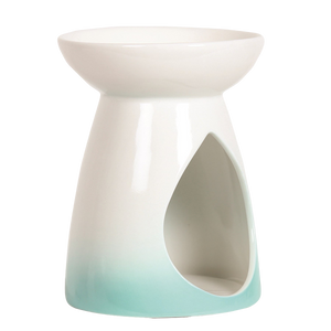 Teal Teardrop Wax Burner (4410637222022)