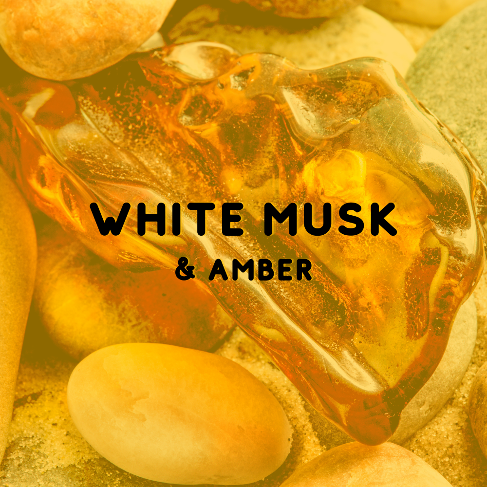 White Musk & Amber - Reed Diffuser Fragrance