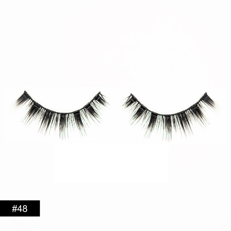 Silk Eye Lashes #48 Casually Casual