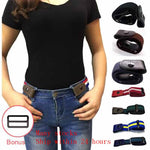 Buckle-Free Belt For Jean Pants,Dresses,No Buckle Stretch Elastic Waist