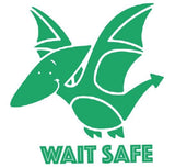 Wait Safe Bumper Sticker