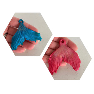 Mermaid tail pendants