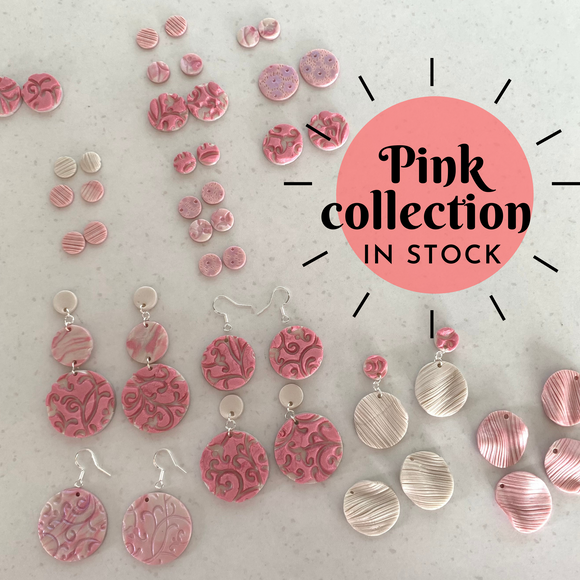 The Pink Earrings Collection