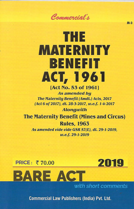 The Maternity Benfits Act 1961