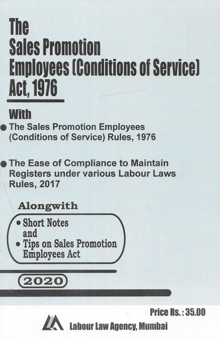 The Sales Promotion Employees Act, 1976