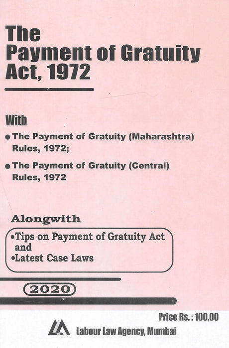 The Payment of Gratuity Act, 1972