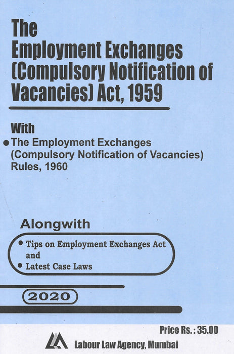 The Employment Exchanges (Compulsory Notification of Vacancies) Act, 1959